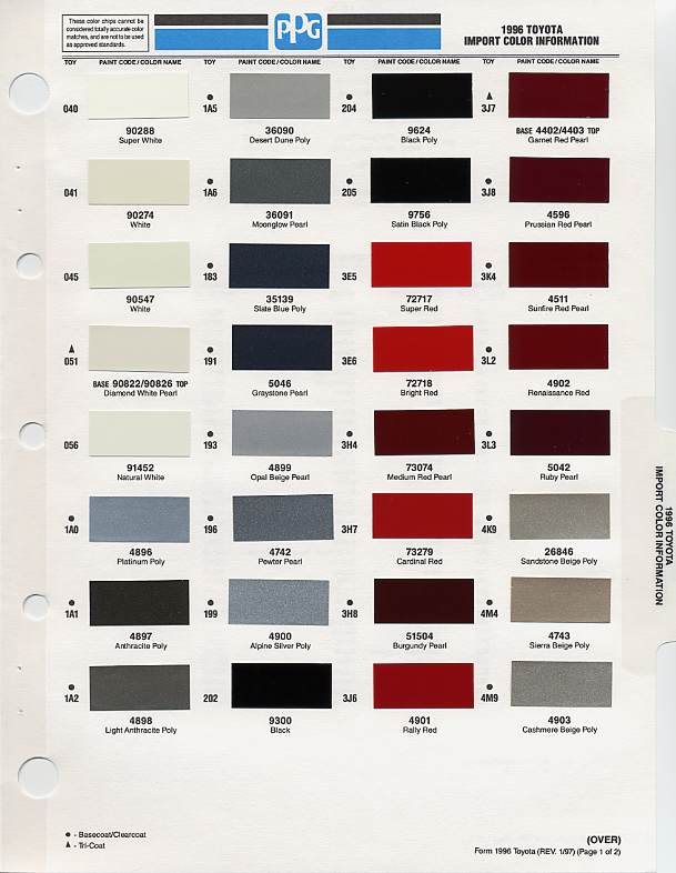 colors unrivalled palette of toyota paint color is you can feel like. Black Bedroom Furniture Sets. Home Design Ideas